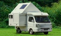기상천외한 아이디어로 공간을 잡다 – 코이즈미 카루캠 트랜스폼 캠퍼