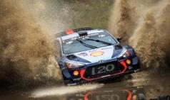 WRC 마지막 라운드 우승 거머쥔 현대차