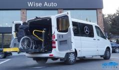 와이즈오토홀딩스,  벤츠 스프린터에 전자동 휠체어 리프트 장착한  출시