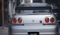 등장만으로도 미친 존재감, 닛산 GT R이 홍콩 거리를 누빈다