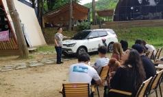 쌍용차, 티볼리 브랜드와 함께하는 `펫 글램핑` 개최
