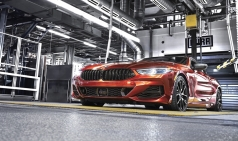 BMW 플래그십 쿠페 '8시리즈', 마침내 생산 개시