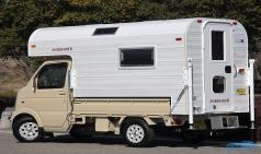 나홀로 캠핑을 위한 트럭캠퍼, J캐빈 미니 W