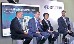 현대차, 스위스 수소 에너지 업체에 FCEV 트럭 1000대 공급