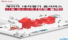 K Car(케이카), 내차팔기 홈서비스 접수량 1만건 돌파