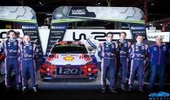 현대자동차 모터스포츠 WRC-WTCR 선수라인업 확정