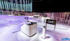 아우디, 미래의 차량 내 엔터테인먼트를 위한 기술 선보여