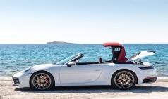 포르쉐, 911 카레라 카브리올레 혁신적인 경량 소프트 탑 장착