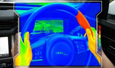 재규어, 온도로 신호를 전달하는 스티어링 휠 개발
